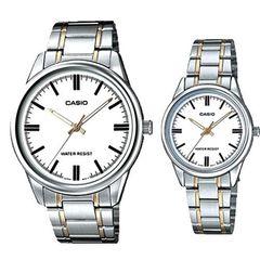 Парные часы Casio Standard: MTP-V005SG-7AUDF и LTP-V005SG-7AUDF