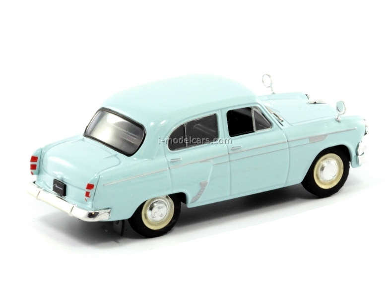 Moskvich-403IE blue 1:43 DeAgostini Auto Legends USSR #141