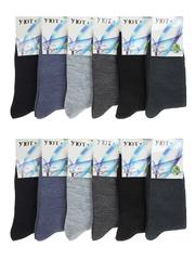C9052 носки подростковые (36-41), цветные (12шт)