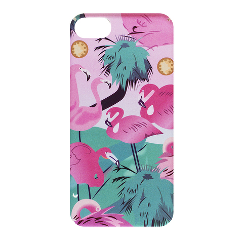 Чехол для IPhone 7 Palm Flamingo
