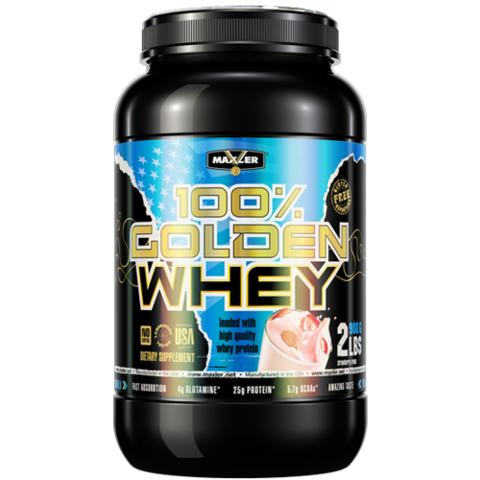 MXL 100% Golden Whey, 2lbs.