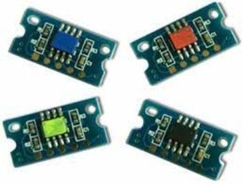 Чип синий для драм-картриджа Minolta bizhub C25/C35, ресурс 30000 страниц (IUP-14 C/A0WG0KJ)