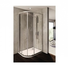 Душевой уголок с раздвижными дверьми 80х100х195 см Ideal Standard Kubo T7152EO фото