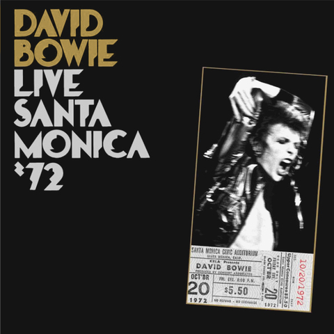 David Bowie / Live Santa Monica '72 (2LP)