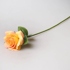 Роза 35 см желтая, 1801