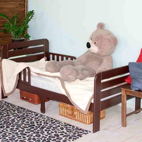 Кровать подростковая Охта Шоколад