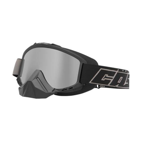 Маска Castle X Force Black Mirror Silver lense