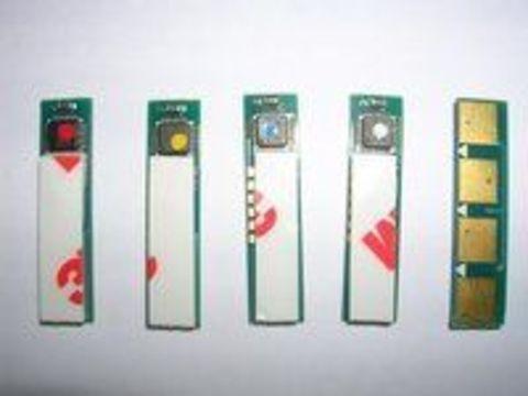 Чип Samsung CLT-C407S. Голубой чип для картриджей Samsung CLP-320/CLP-325/CLX-3285. Ресурс 1000 копий.