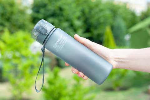 Бутылка для воды Powcan 560 мл - Gray матовая