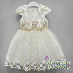 Платье (кружево, стразы)