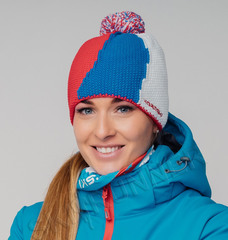 Шапка Nordski Knit Colour Red/Blue