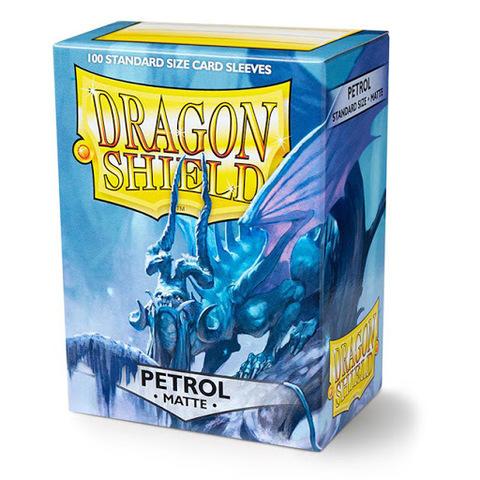 Протекторы Dragon Shield матовые Petrol (100 шт.)