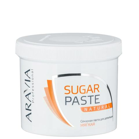 Паста сахарная Натуральная мягкая для депиляции 750г Аравия