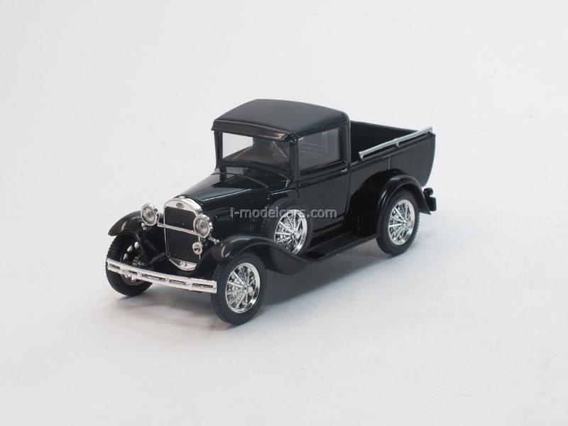 GAZ-4 Pickup black 1:43 Nash Avtoprom
