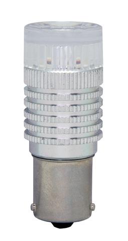 Светодиодная лампа P21W MTF Light 360° (красный)
