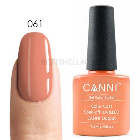 Canni Canni, Гель-лак 061, 7,3 мл 061.jpg