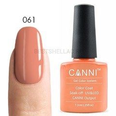 Canni, Гель-лак 061, 7,3 мл