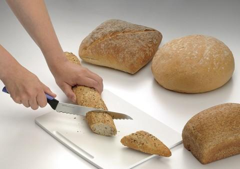 Нож Universal для хлеба с чехлом в синем цвете