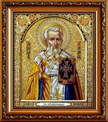 Григорий Армянский, просветитель Великой Армении, Священномученик. Икона на холсте.