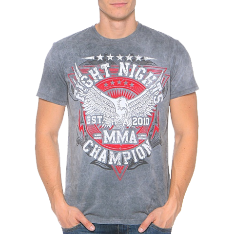 Футболка Fight Nights MMA Champion