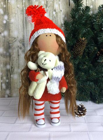 Лялька Клара з колекції - Honey Doll. Різдв'яна серія