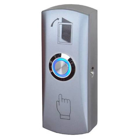 EXIT805LED Накладная кнопка c подсветкой (светло-серый) YLI ELECTRONIC