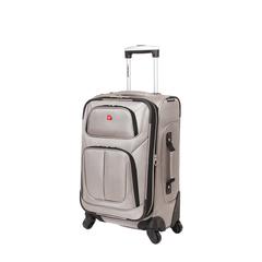 Чемодан Wenger Sion, светло-серый, 37x22x60 см, 35 л