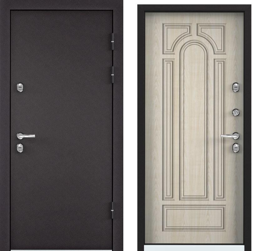 Входные двери Torex Snegir 60 горячий шоколад TS-7 КТ дуб бежевый generated_image-14.jpg