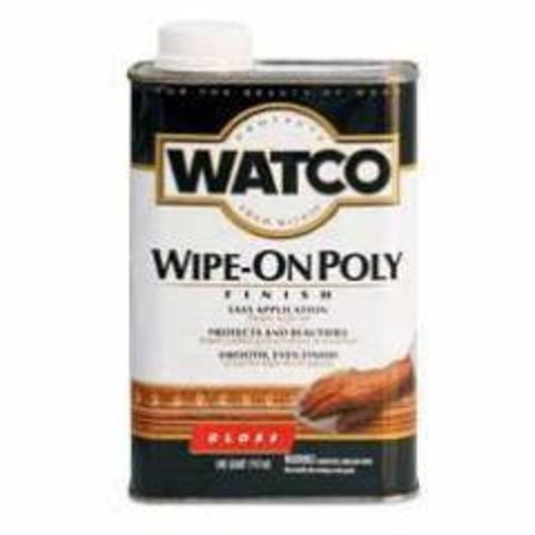 Watco Wipe-On Poly полироль для дерева