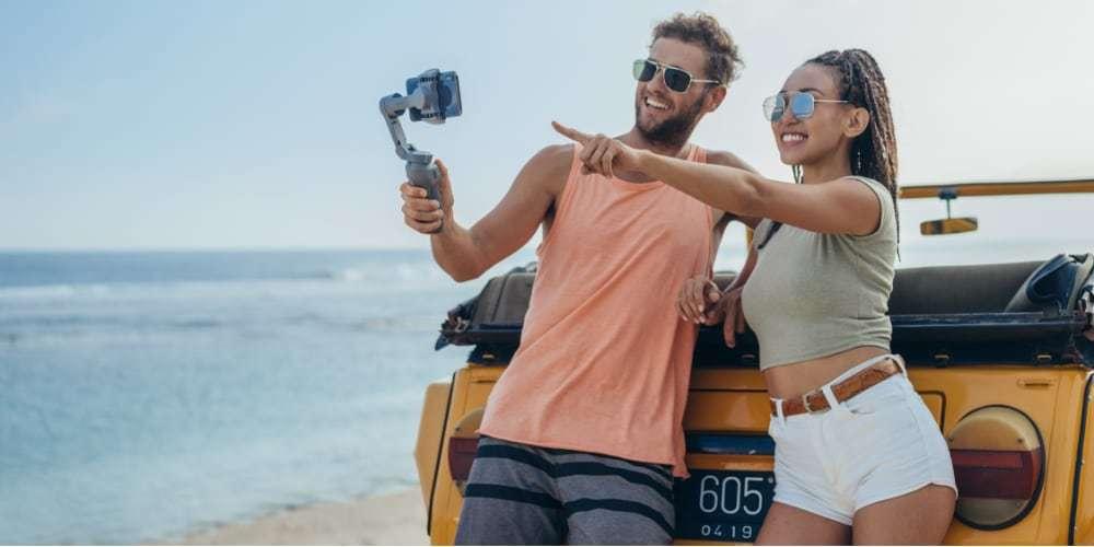 Стабилизатор OSMO Mobile 3 lifestyle