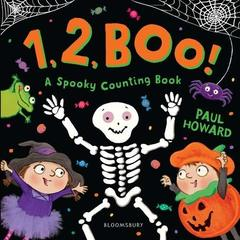 1, 2, BOO!: A Spooky Counting Book  (board bk)