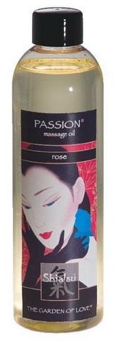 Масло для тела Shiatsu, роза, 250 мл
