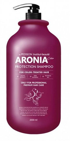 EVAS Pedison Шампунь для волос АРОНИЯ Institute-beaut Aronia Color Protection Shampoo, 2000 мл