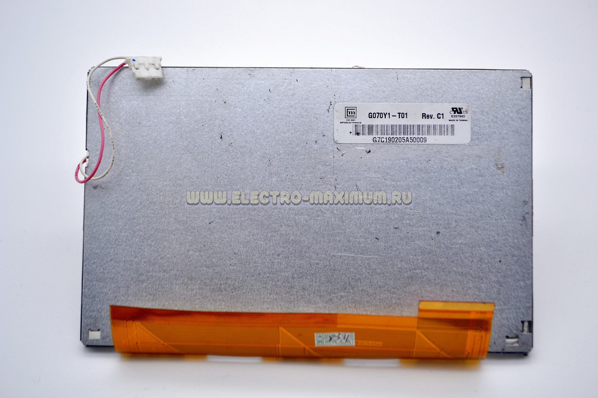 Дисплей TFT LCD 7″ G070Y1-T01