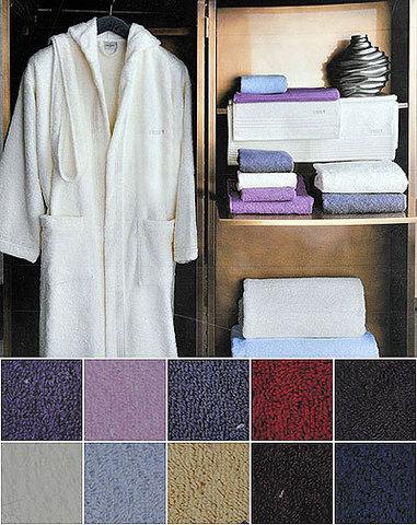 Набор полотенец 2 шт Trussardi Bambu серый