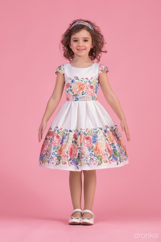 Платье для девочки 38-8002-4
