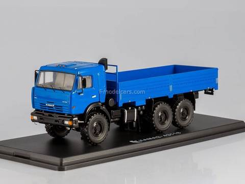 KAMAZ-43118 6x6 flatbed blue 1:43 Start Scale Models (SSM)