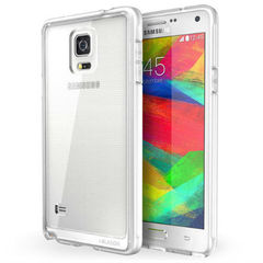 Прозрачный чехол-накладка для Samsung Galaxy Note 4