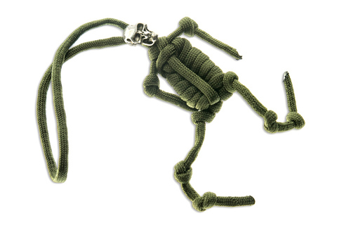 Скелет зеленый
