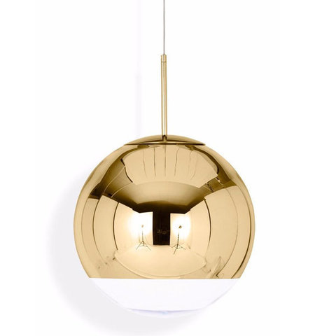 replica Tom Dixon Mirror Ball  GOLD  pendant lamp D15