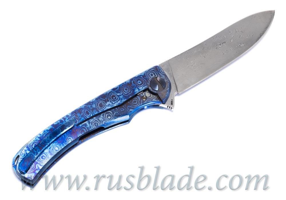 Cheburkov Frieze Damascus Custom Knife