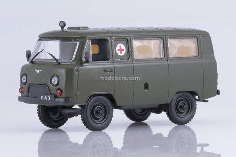 UAZ-452A sanitary ambulance 1965-1985 1:43 DeAgostini Auto Legends USSR #244