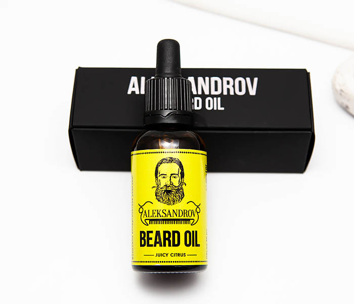 RAZ420-2 Ухаживающее масло для бороды Aleksandrov «Juicy Citrus» (30 мл) фото 02
