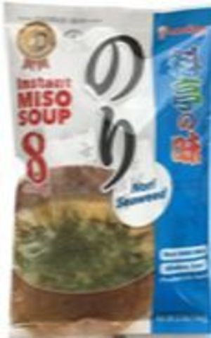 Instant Miso Soup Ryoutei No Aji Nori 8 servings