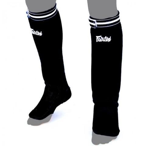 Щитки Fairtex Fabric Shin Pads SPE1 Black