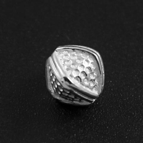 Бусина Калипсо 7,3х7,3 мм серебро 925