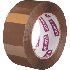 Клейкая лента упаковочная ATTACHE 48мм х 132м 45мкм коричневая