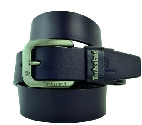 Ремень брендовый мужской тёмно-синий 40 мм для джинс Timberland (копия) 40KZ-184