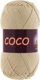 Пряжа Vita Coco бежевый 3889