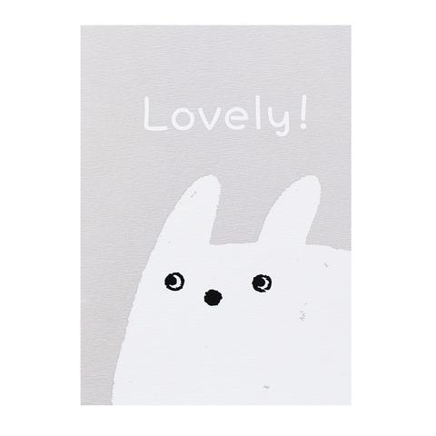 Открытка Lovely Rabbit